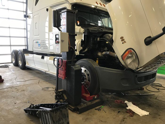 CVIP inspections at Major Overhaul and Equipment Repair in Edmonton