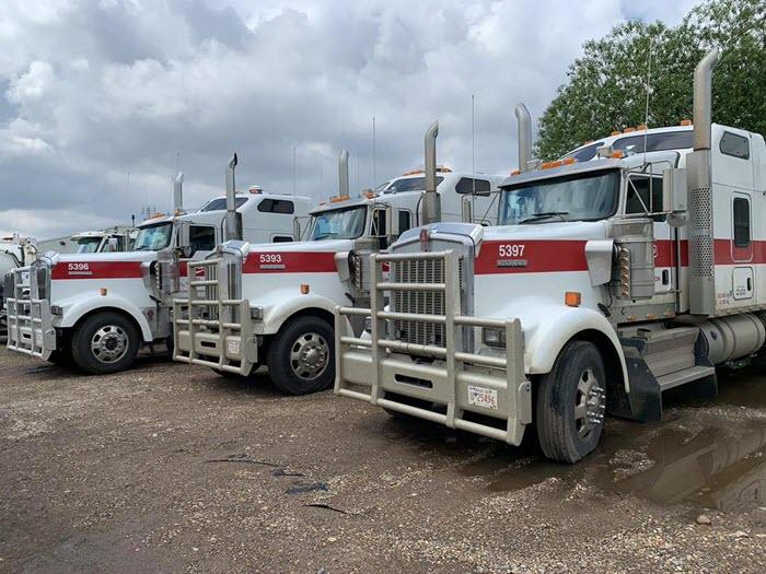 Fleet service performed at Major Overhaul and Equipment Repair in Edmonton Alberta